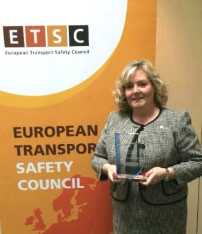 Jacqueline O'Donovan ETSC PRAISE Awards