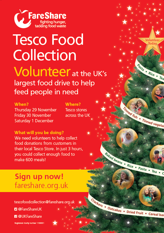 Tesco Volunteering image