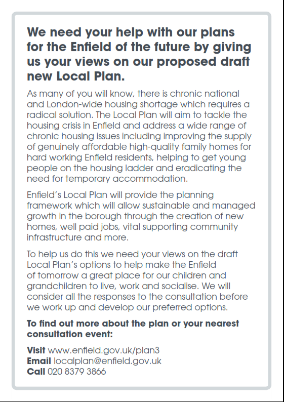 enfield local plan 2